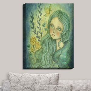 Decorative Canvas Wall Art | Amalia K. - Butterfly Queen