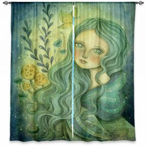 Decorative Window Treatments | Amalia K. Butterfly Queen