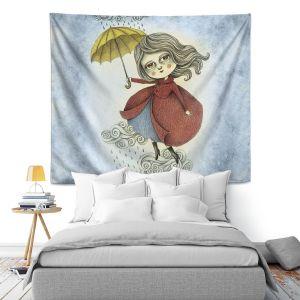 Artistic Wall Tapestry | Amalia K. Cloud Dancing