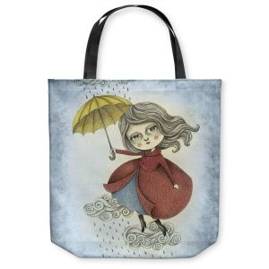 Unique Shoulder Bag Tote Bags | Amalia K. Cloud Dancing