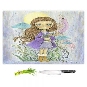 Artistic Kitchen Bar Cutting Boards | Amalia K. - Gift of Gold