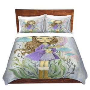 Artistic Duvet Covers and Shams Bedding | Amalia K. - Gift of Gold