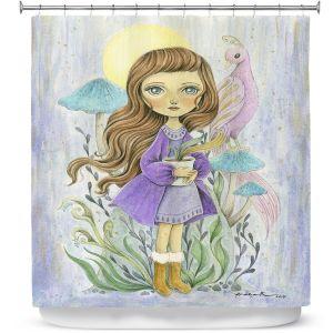 Premium Shower Curtains | Amalia K. - Gift of Gold