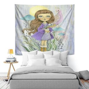 Artistic Wall Tapestry | Amalia K. - Gift of Gold