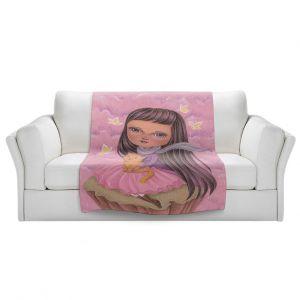 Artistic Sherpa Pile Blankets   Amalia K. - In A Daydram