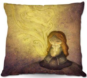 Decorative Outdoor Patio Pillow Cushion   Amalia K. - Light Upon Us