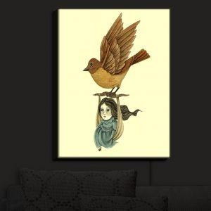 Nightlight Sconce Canvas Light | Amalia K.'s Midnight Travel