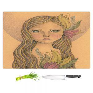 Artistic Kitchen Bar Cutting Boards   Amalia K. - The Gold In her Hair