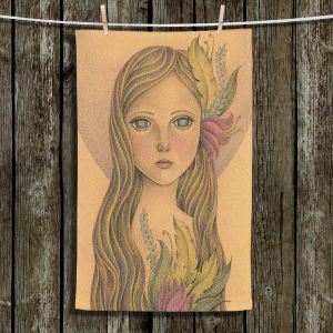 Unique Bathroom Towels | Amalia K. - The Gold In her Hair