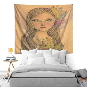 Artistic Wall Tapestry | Amalia K. - The Gold In her Hair