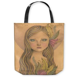 Unique Shoulder Bag Tote Bags | Amalia K. - The Gold In her Hair
