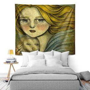Artistic Wall Tapestry | Amalia K. The Guardian