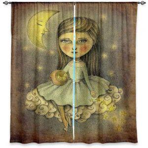 Decorative Window Treatments   Amalia K. With the Stars Above