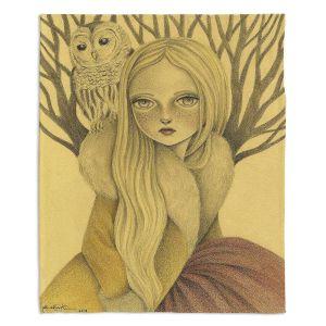 Decorative Fleece Throw Blankets | Amalia K. - Within Wisdom