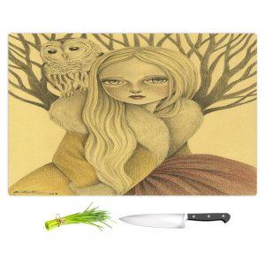 Artistic Kitchen Bar Cutting Boards | Amalia K. - Within Wisdom
