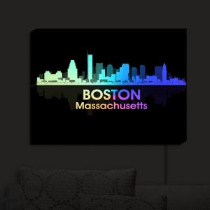 Nightlight Sconce Canvas Light | Angelina Vick - City V Boston Massachusetts