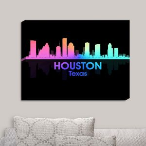 Decorative Canvas Wall Art | Angelina Vick - City V Houston Texas