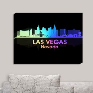 Decorative Canvas Wall Art | Angelina Vick - City V Las Vegas Nevada