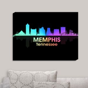 Decorative Canvas Wall Art | Angelina Vick - City V Memphis Tennessee