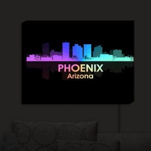 Nightlight Sconce Canvas Light | Angelina Vick - City V Phoenix Arizona