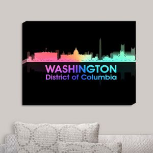 Decorative Canvas Wall Art | Angelina Vick - City V Washington DC