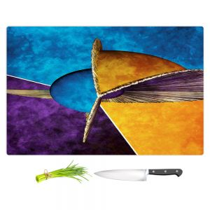 Artistic Kitchen Bar Cutting Boards   Angelina Vick - Abstract 23   Shapes colors artistic