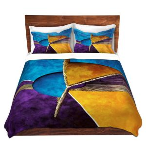 Artistic Duvet Covers and Shams Bedding | Angelina Vick - Abstract 23 | Shapes colors artistic