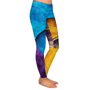Casual Comfortable Leggings | Angelina Vick - Abstract 23 | Shapes colors artistic