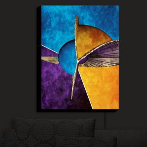 Nightlight Sconce Canvas Light | Angelina Vick - Abstract 23