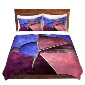 Artistic Duvet Covers and Shams Bedding | Angelina Vick - Abstract 24 | Shapes colors artistic
