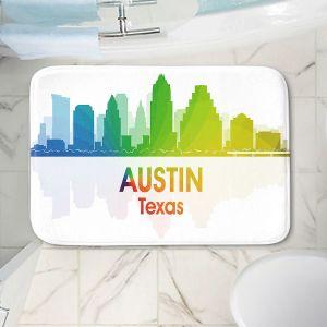 Decorative Bathroom Mats | Angelina Vick - City I Austin Texas