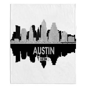 Decorative Fleece Throw Blankets | Angelina Vick - City IV Austin Texas