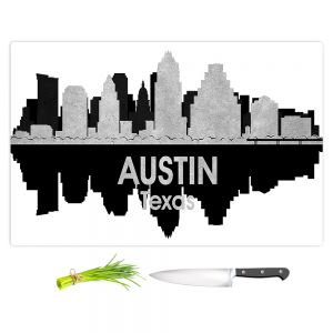 Artistic Kitchen Bar Cutting Boards | Angelina Vick - City IV Austin Texas