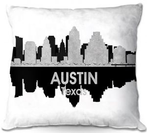 Throw Pillows Decorative Artistic | Angelina Vick - City IV Austin Texas