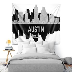 Artistic Wall Tapestry | Angelina Vick - City IV Austin Texas