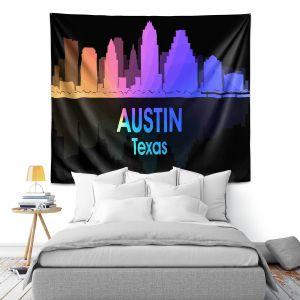 Artistic Wall Tapestry | Angelina Vick - City V Austin Texas