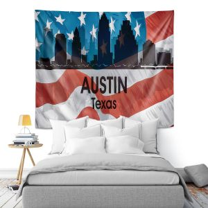 Artistic Wall Tapestry | Angelina Vick - City VI Austin Texas