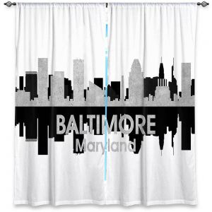 Decorative Window Treatments | Angelina Vick - City IV Baltimore Maryland