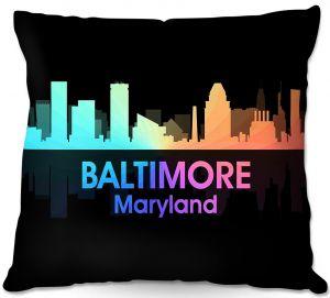 Decorative Outdoor Patio Pillow Cushion | Angelina Vick - City V Baltimore Maryland