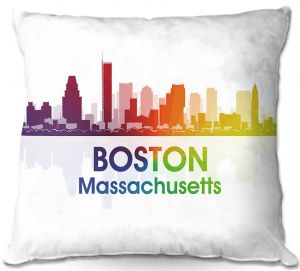 Decorative Outdoor Patio Pillow Cushion | Angelina Vick - City I Boston Massachusetts