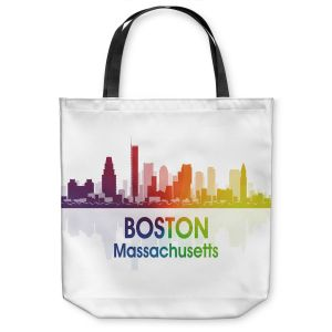 Unique Shoulder Bag Tote Bags   Angelina Vick - City I Boston Massachusetts