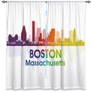 Decorative Window Treatments | Angelina Vick - City I Boston Massachusetts
