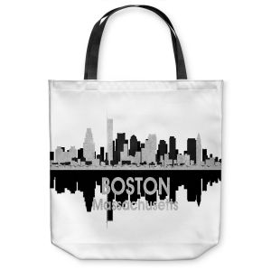 Unique Shoulder Bag Tote Bags |Angelina Vick - City IV Boston Massachusetts