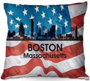 Throw Pillows Decorative Artistic | Angelina Vick - City VI Boston Massachusetts