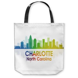 Unique Shoulder Bag Tote Bags | Angelina Vick - City I Charlotte North Carolina