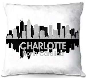 Throw Pillows Decorative Artistic | Angelina Vick - City IV Charlotte North Carolina