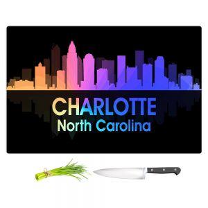 Artistic Kitchen Bar Cutting Boards | Angelina Vick - City V Charlotte North Carolina