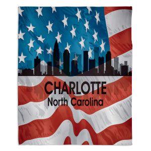 Artistic Sherpa Pile Blankets | Angelina Vick - City VI Charlotte North Carolina