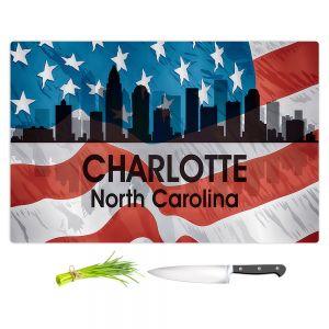 Artistic Kitchen Bar Cutting Boards | Angelina Vick - City VI Charlotte North Carolina