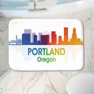 Decorative Bathroom Mats | Angelina Vick - City I Portland Oregon